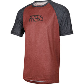 IXS Progressive 8.1 Jersey Herre red/black